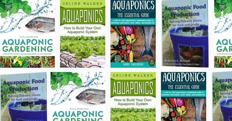 Our guide to auqaponics books