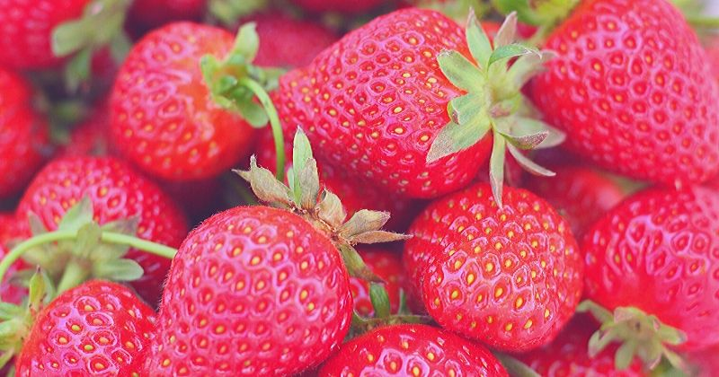 a picture of strawberries